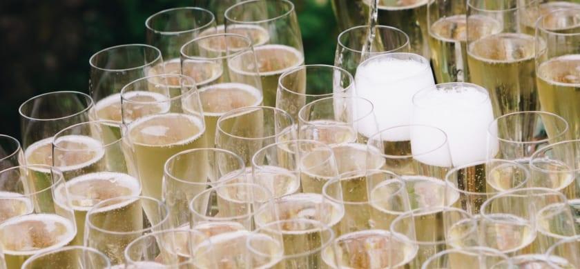 Campaign champagne!