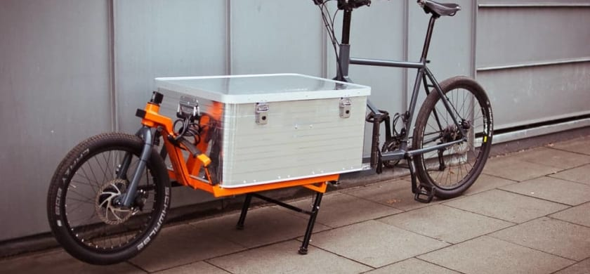 Save the planet and your wallet with a handyman on a cargo bike!