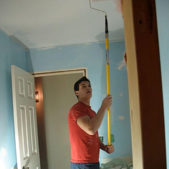 plafond schilderen - garantie
