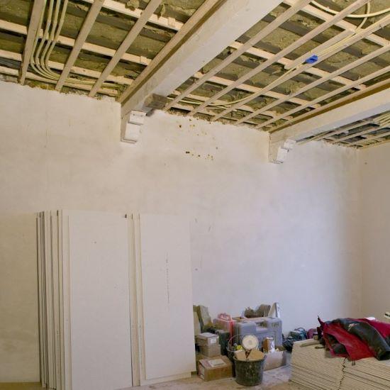 plafond verwijderen - garantie