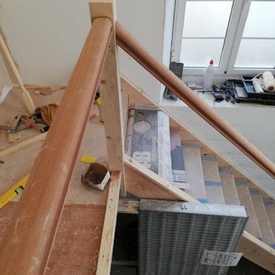trap plaatsen - garantie