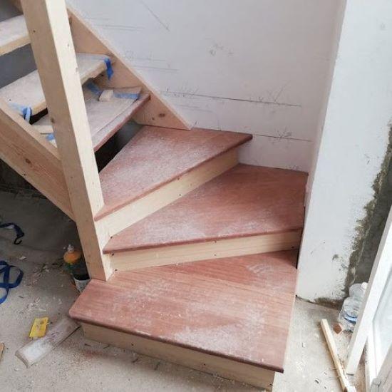 trap plaatsen - tarief