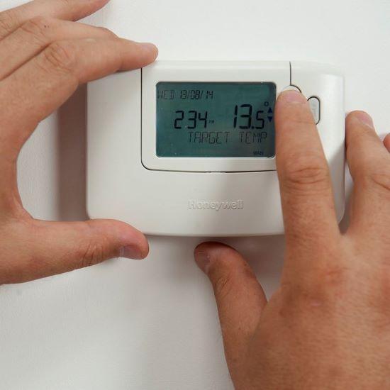 thermostaat plaatsen - garantie